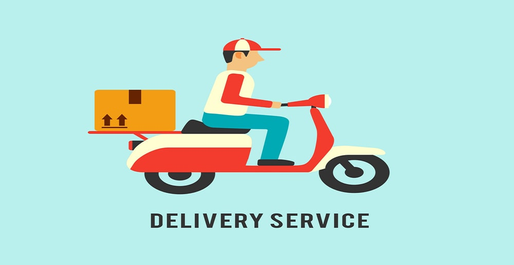 delivery service of carnesia