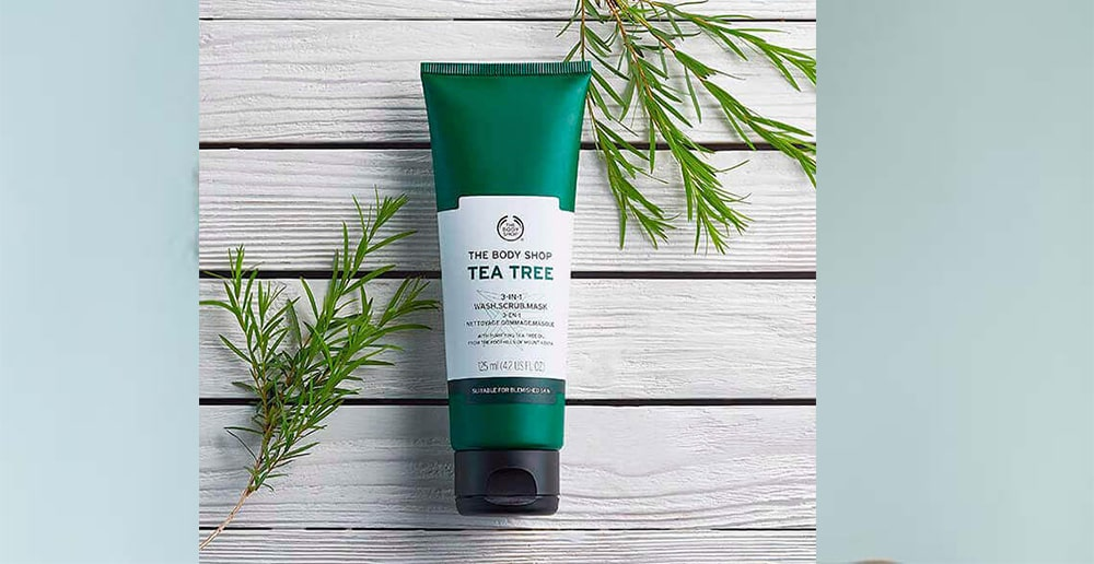 The Body Shop Tea Tree 3-In-1 Wash Scrub Mask in bangladesh